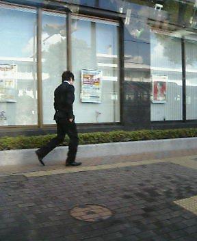 成人式へ向かう息子君(^0^)/